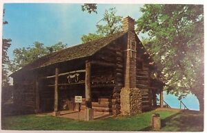 Details about Pioneer Log Cabin on Stone Lake in Cassopolis, Michigan  Chrome Postcard Unused
