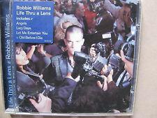 Robbie Williams - Life through a lens  CD 1997  mint
