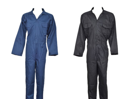 HeavyDuty Boiler Suit Overall Coverall Engineer Mechanic Student Cotton Twill