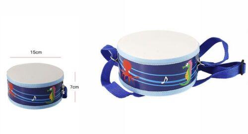 Tamburello Tamburo Con Tracolla Gioco Giocattolo Musicale Musica Bambini dfh