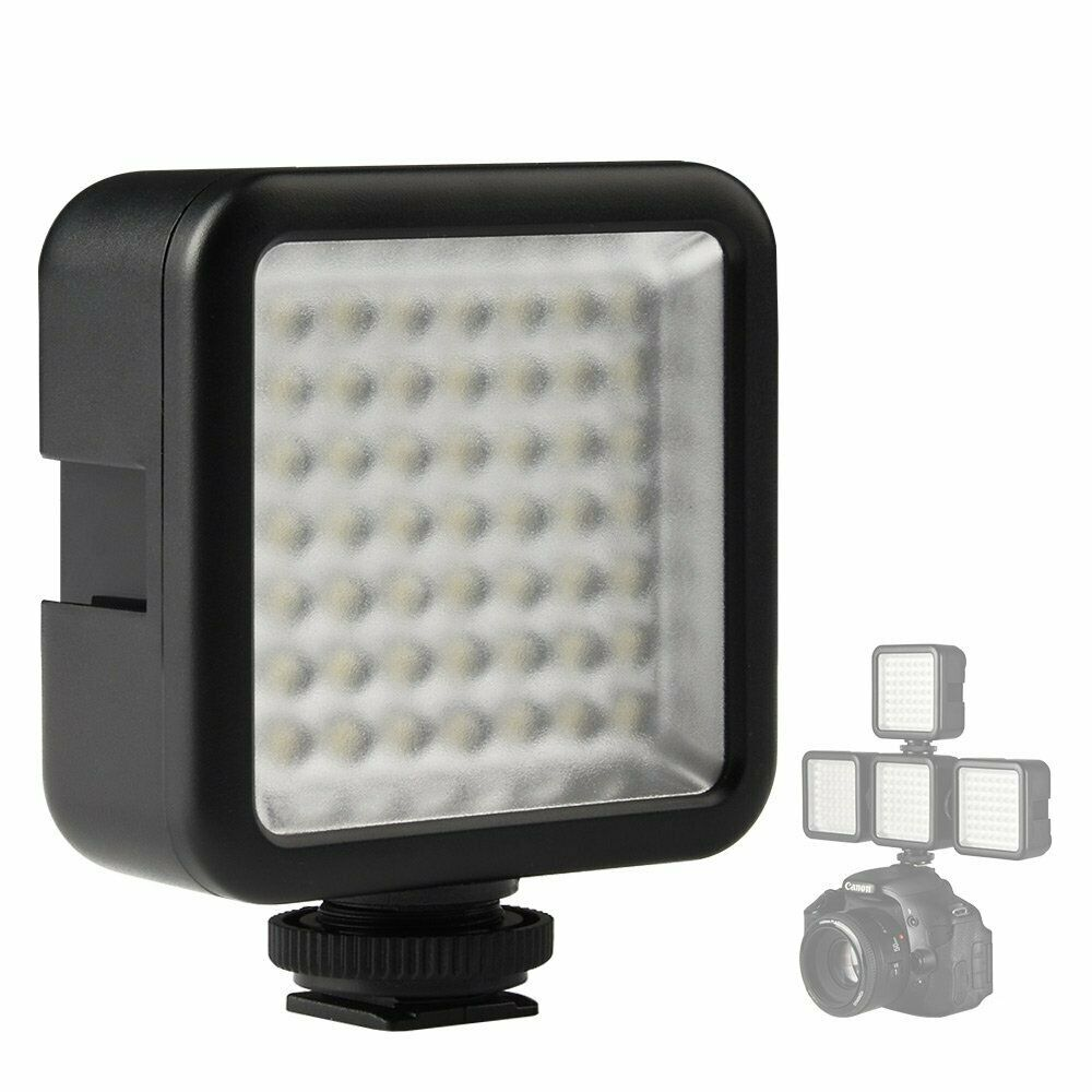 LED Light Lighting For Canon EOS RP R 4000D 3000D 2000D 1500D 1300D 1200D 800D