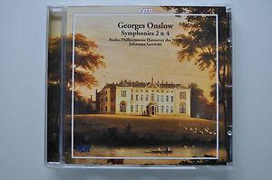 Onslow-Symphonies-2-amp-4-Goritzki-LIMITIERTE-SONDERAUFLAGE-500-Exemplare-CD