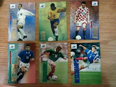 PANINI WC WM FRANCE 98 1998 162 FRANCE DESAILLY WITH BLACK BACK MINT!!