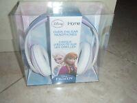 DISNEY FROZEN OVER THE EAR KIDS HEADPHONES ELSA iHOME GIRLS ~ NIP