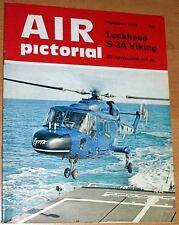 Air Pictorial 1975 February Bellanca,S-3A Viking,DH86,Marham Victor