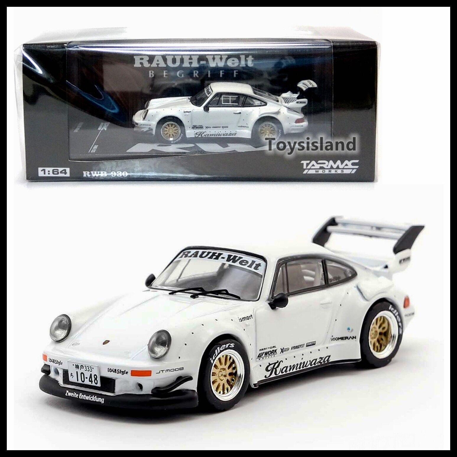 Tarmac Works 1 64 Porsche RWB 930 RAUH-Welt BEGRIFF DIECAST DIECAST DIECAST CAR 777986