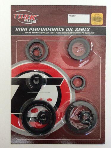 Tusk Engine Oil Seal Kit Set Seals HONDA CRF250R 2010-2015