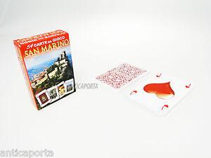 54 Carte da Poker da gioco Souvenir San Marino Spedizioni Gratuite ...