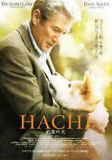 HACHIKO: A DOG'S STORY Movie Promo POSTER Richard Gere Sarah Roemer Joan Allen