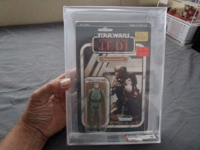 venderse como panqueques Estrella Estrella Estrella Wars rojoj-Rebel Commando - 65 Back-AFA calificado  tienda en linea