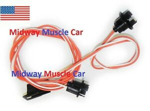 under dash courtesy light wiring harness with a c 69 72. Black Bedroom Furniture Sets. Home Design Ideas