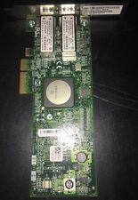 Emulex LPE11002 4Gb HBA FC PCI-e Dual Port Fiber Card Dell KN139 LPE11002-E