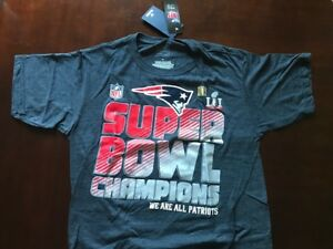 9e6161c38 Image is loading New-England-Patriots-Super-Bowl-t-shirt-Size-