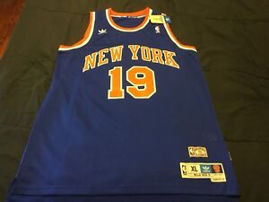 best loved 54ab7 a5149 Details about Willis Reed New York Knicks Adidas Jersey