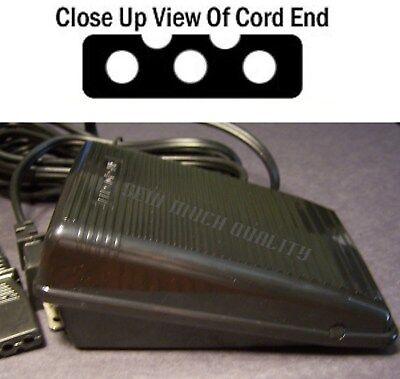 FOOT CONTROL PEDAL W// Cord Singer 14U444 14U444B 14U454 14U454B 14U554 14U555