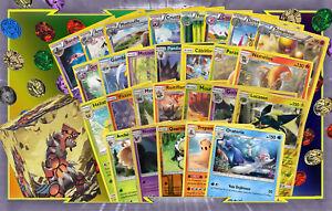 Lot-60-Cartes-Pokemon-Differentes-Francaises-Cadeaux-Boite-Jeton-Rares-100PV