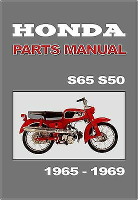 Other Motorcycle Parts HONDA CA102 HONDA 50 MOTORCYCLE MICROFICHE ...