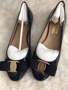 79b9edad4b9e La foto se está cargando Nuevo-En-Caja-Salvatore-Ferragamo-Varina-Ballet -Zapatos-