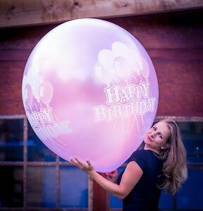 1-x-BELBAL-36-034-Riesenluftballon-HAPPY-BIRTHDAY-GEBURTSTAG-METALLIC