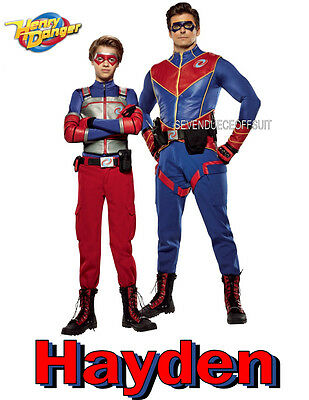 HENRY DANGER PERSONALISED BIRTHDAY CARD ANY NAME AGE RELATION