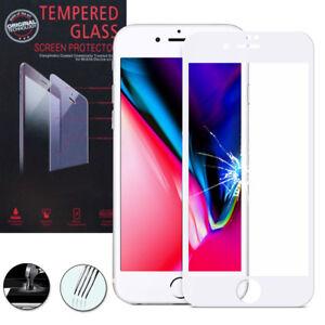 Lot-Pack-Film-Verre-Trempe-Protecteur-d-039-ecran-pour-Apple-iPhone-8-Plus-5-5-034
