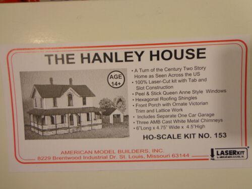 American Model Builders HO #153 The Hanley House kit Form