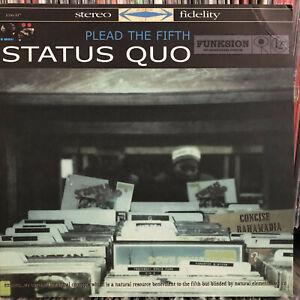 STATUS-QUO-BAHAMADIA-CONCISE-PLEAD-THE-FIFTH-12-034-1999-RARE