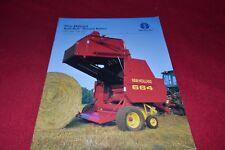 Holland 644 654 664 Round Baler Operator Manual 42064431 for