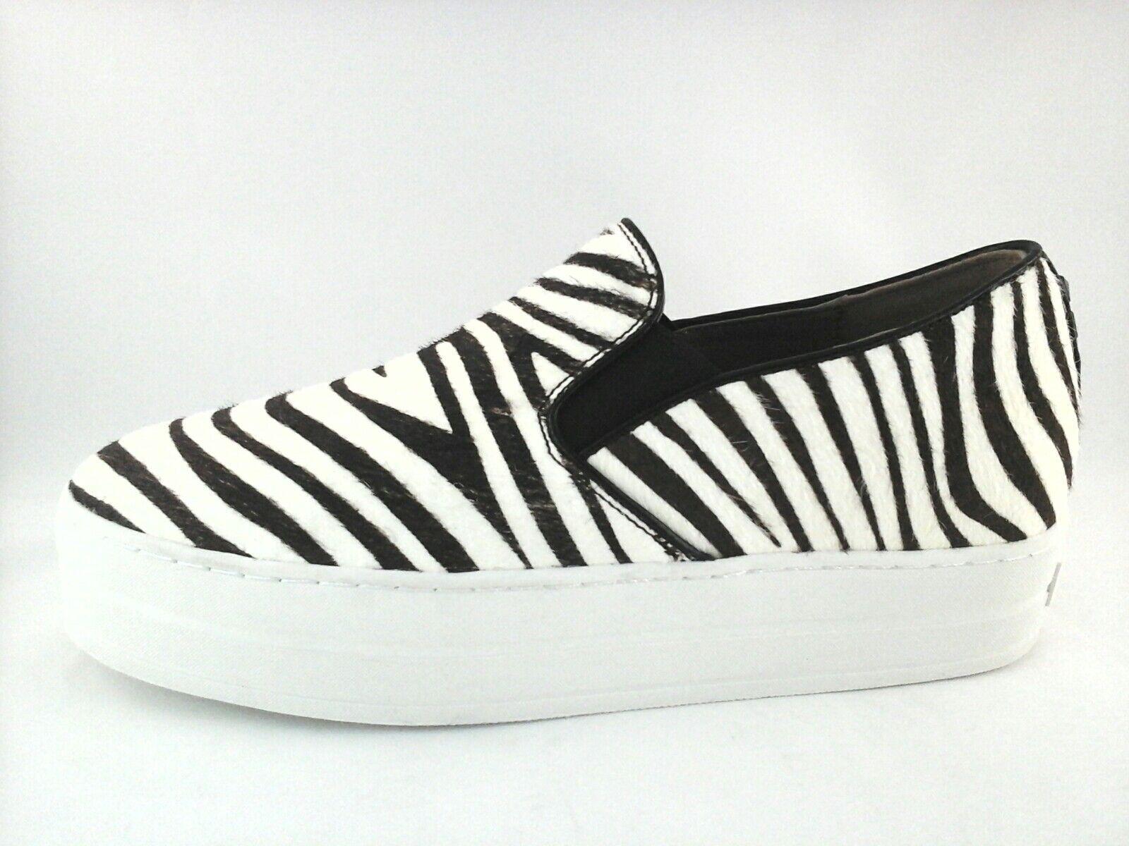Sketchers Rise Fit Damenschuhe Platform Zebra Leder Back Studded Back Leder Slip-Ons US 9.5 381848
