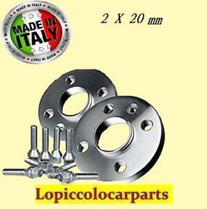 COPPIA DISTANZIALI DA 20mm PROMEX MADE IN ITALY 5x98 58.1 ALFA ROMEO 156 932