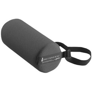OPTP Original McKenzie Lumbar Roll Standard Lower Back Support Cushion - Black