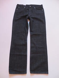 Levi's 506 Herren Jeans Hose, W 38 /L 34, Schwarz ! NEU ! Rinse Finished Denim !