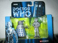 Doctor Who Corgi Diecast Dalek And Cyberman Set