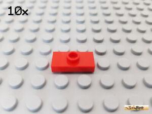 Fliese 1x2 mit 1 Noppe mittig weiß 3794 LEGO® 10Stk Platte