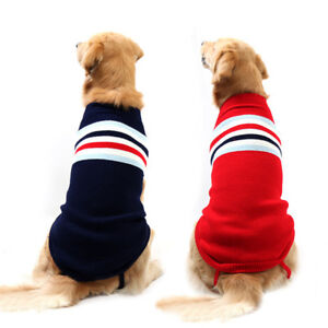 Small To Large Dog Jumpers Soft Cotton Hand Knitted Dog Sweaters Pet