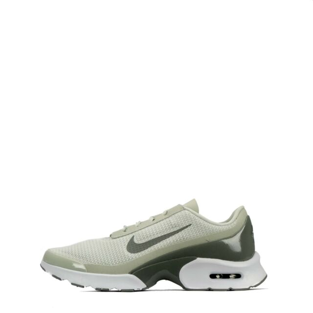 5efcaaef2011 Nike Air Max Jewell Women s Casual Trainers Shoes Light Bone White