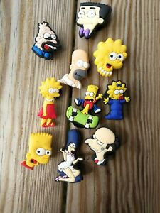 The Simpsons Crocs Badges Buttons schuhcharms Accessories Jibbitz Present | eBay