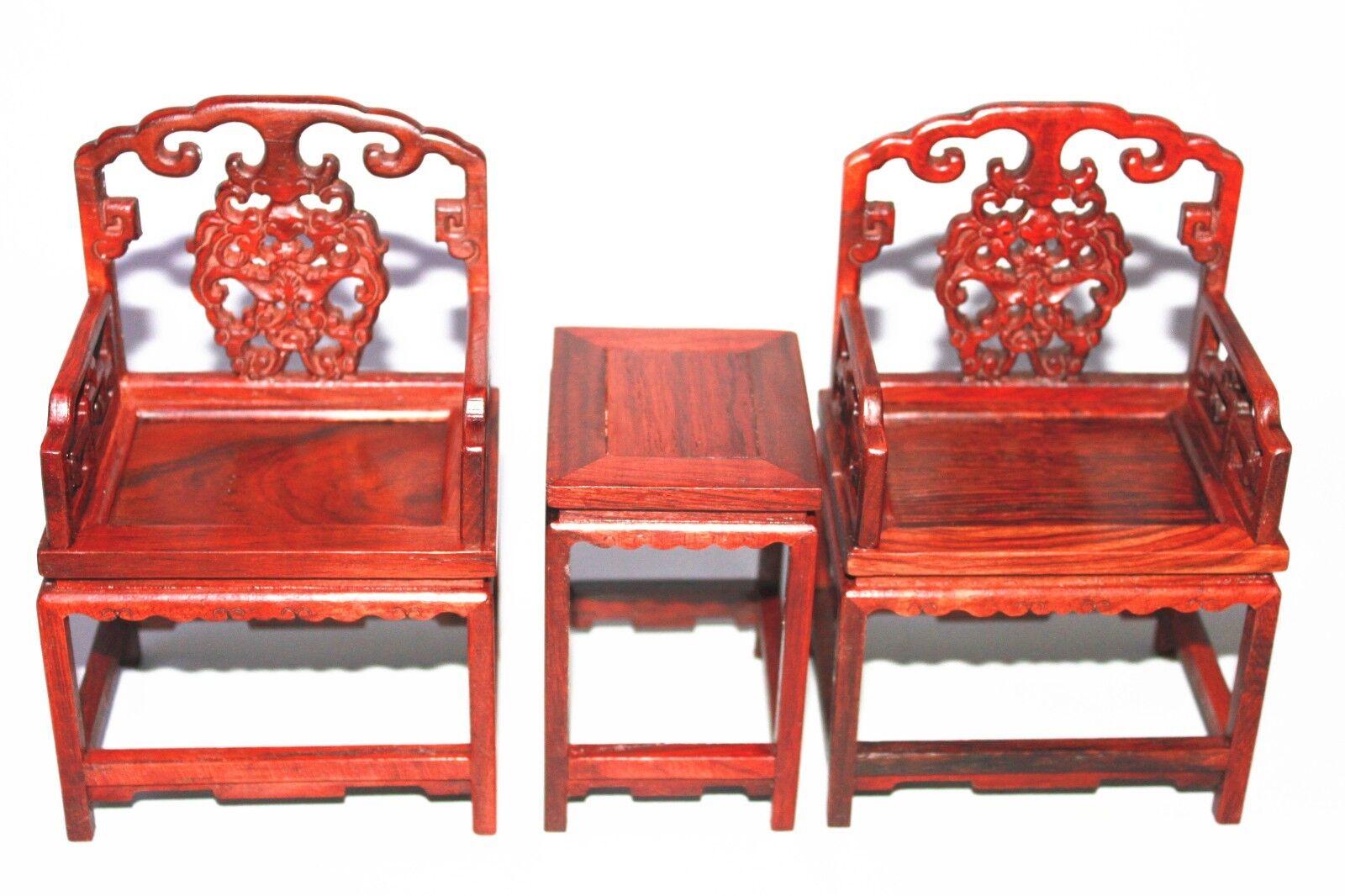 CASA delle Bambole Mobili  in miniatura in palissero massello-tavolo in legno per tè con sedie set  centro commerciale online integrato professionale