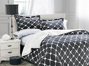 3-PC-Bloomingdale-Faux-Fur-Sherpa-Reversible-Down-Alternative-Comforter-Gray