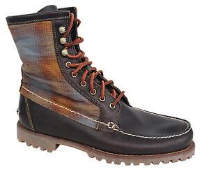 U58 Authentics cosidas resistentes botas Mens pulgadas de Timberland 8 a A138f mano cordones con twqBnO