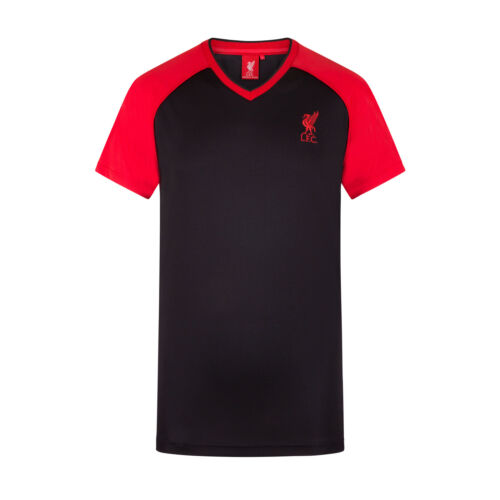 Liverpool FC Official Football Gift Mens Poly Training Kit T-Shirt