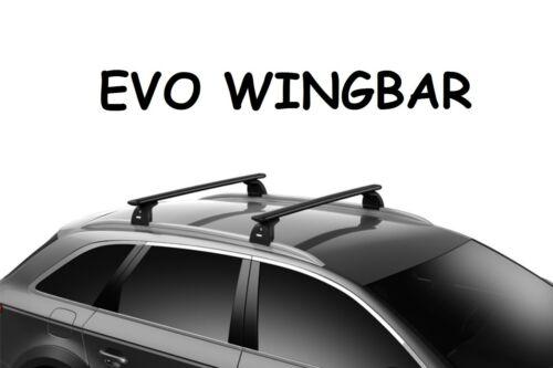 Barre portatutto THULE EVO WingBar Nero BMW Serie 6 Gran Turismo G32 2018