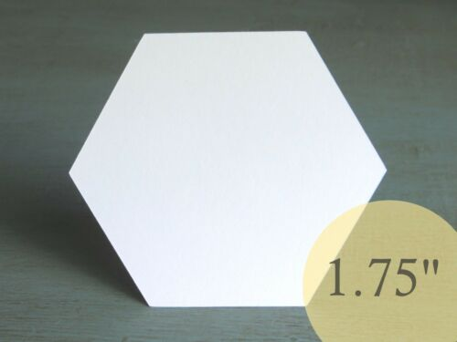 """350 Hexagons 1-3//4/"""" HIVE PAPER PIECES English Paper Piecing EPP Quilt Templates"""