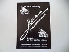 advertising Pubblicità 1977 MENANI FOR RACING TEAM