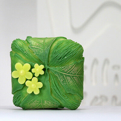 Leaf wrap - Handmade Silicone Soap Mold Candle Mould Diy Craft Molds