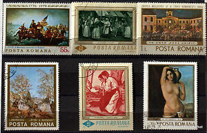 Romania-Paintings-Painter-Pack-Stamps-78M13