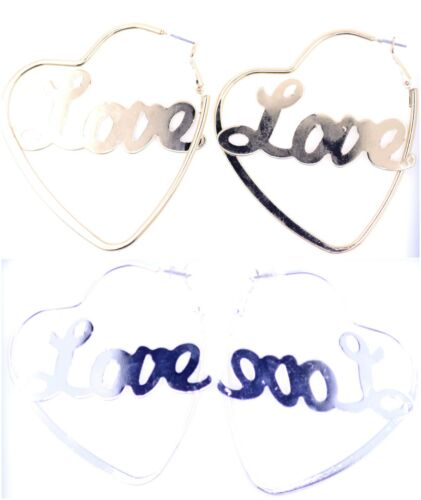 "Boucles d/'oreilles /""I love you/"" très cool"