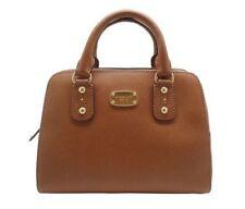 081e546e0fe8 Michael Kors MK Saffiano Leather Large Acorn Satchel Crossbody Bag 398