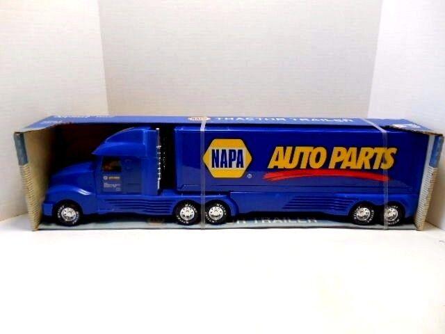 1995 Nylint Toys 'Napa Auto Parts's remolque de tractor & & plástico de acero prensado
