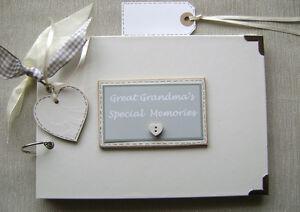 Great Grandma S Memories Birthday A5 Size Photo Album Scrapbook